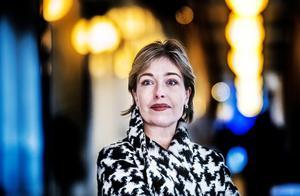 Annika Strandhäll, socialminster (S).