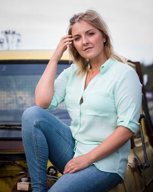 Therese Eriksson jobbar vanligtvis med film som hon gör till företag. Det här är hennes första dokumentär.  Foto: Helen Shippey