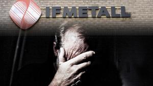 Många av IF Metalls medlemmar är oroliga för att inte klara ekonomin om de skulle bli sjukskrivna. Bilder: Bertil Ericson/TT / Simon Paulin/TT