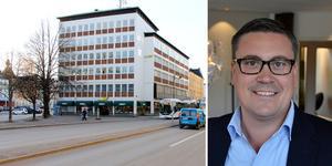 Flera nya hyresgäster flyttar in i fastigheten på Köpmangatan, där tidningen Dagbladet tidigare hade sina lokaler.