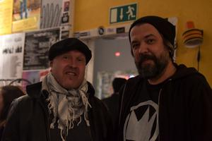 Lasse Sandberg och Peter Lundström. Bild: Luka Kjerrman