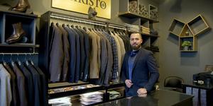 Den 24 november slog Apik Sarkissian upp portarna till sin lilla men exklusiva butik i Grusåsen.