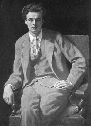 John Colliers porträtt av Aldous Huxley från 1927.