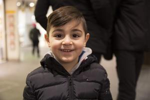 Elias Daoud, 4 år, förskolebarn, Brunnsäng: