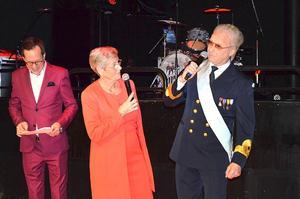 Göran Gabrielsson som Carl XVI Gustaf. Foto: Privat