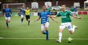 Anton Lundin har redan gjort lika många mål som han gjorde under hela förra säsongen.