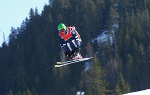 IFK Borlänges Lars Lewén gjorde ett OS i skicross och blev 24:a i Vancouver-spelen. Foto: Jörgen Wåger