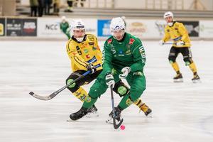 Christoffer Fagerström och Brobergs Robin Redin.