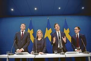 De ekonomiska åtgärderna lanseras allt eftersom av Per Bolund (MP), finansmarknadsminister, Magdalena Andersson (S), finansminister, Emil Källström (C) och Mats Persson (L). Regeringen behöver komma med snabbare, enklare och mer uthålliga insatser för att rädda företag och jobb, skriver Anna Gillek på Svenskt Näringsliv.