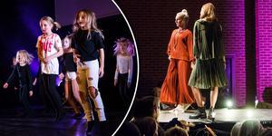 Ljusdal fashion week avslutades som alltid med en färgsprakande och festlig modevisning.