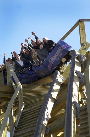 Balder invigdes 2003 och är utsedd till världens bästa berg-och-dalbana i trä.