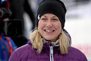 Helena Ekholm är mäkta imponerad av sin förra klubbkompis Sebastian Samuelsson. Foto: Jonny Dahlgren