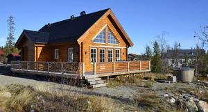Fritidshus i Vemdalsskalet, på Solvargsvägen 41. Foto: Anette Cederwall.