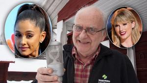 Göran Ehrlund gläder sig åt att hans mikrofon börjar användas av artister som Ariana Grande och Taylor Swift. Foto: AP/TT