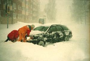 Gävle kommunledningsgrupp uppmanade alla att lämna sina bilar hemma.