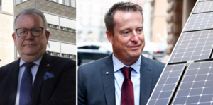 Anders Teljebäck (S) måste sätta press på sin energiminister Anders Ygeman (S). Fredrik Persson/TT och Henrik Montgomery/TT
