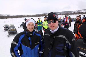 Torbjörn Persson och Fredrik Haldén finns med i gänget som står bakom arrangemanget.