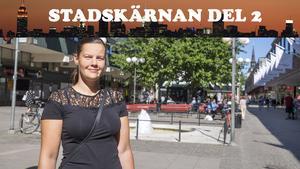 Annelie Johnson är huvudprojektledare för upprustningen av Södertälje centrum, som kommunen gör i samarbete med Centrumföreningen och fastighetsägarna.