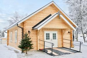 Nya kapellet i Högvålen.