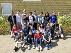 Klass 5F på Gullviveskolan i Gislaved är nu klara för SVT:s Retorikmatchen. Lite nervöst och pirrigt tycker vissa.