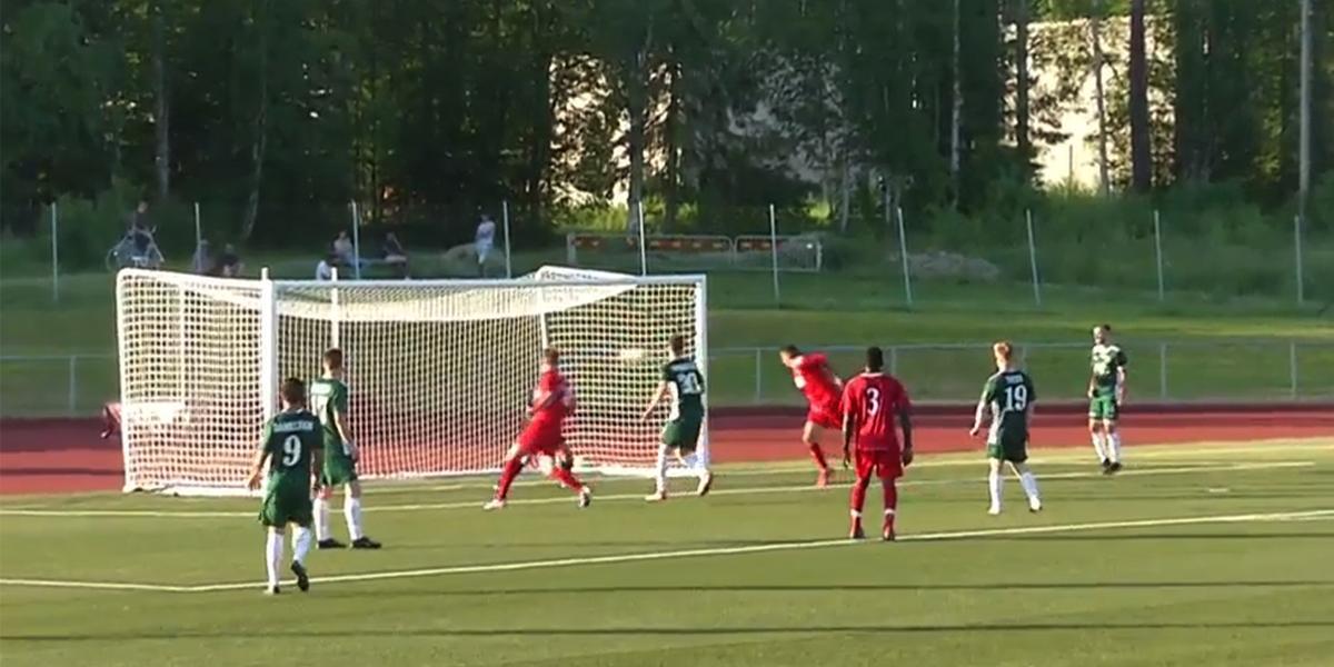 """Formstark Gujea – fjärde målet på två matcher för Älgarna Härnösand: """"Bra för laget och bra för mig"""""""
