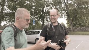 Under den här Sverigeturnén ska Sebastian och Christophe  besöka 60 kyrkor längs en välplanerad rutt.