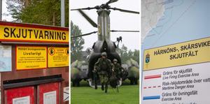 Skribenten tycker att militären ska hålla sig borta från Härnön.