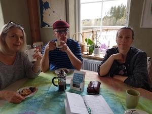 Kaffegäster på Fairtrade-fika