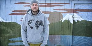Erik Wanneberg lämnade Solna för Tavnäs och ett mer klimatsmart liv.