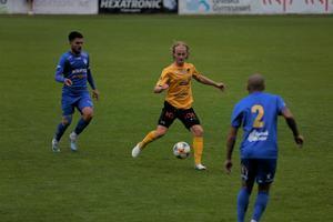 18-årige Marcus Kanto gjorde två matcher från start förra säsongen. I år hade det blivit fem inhopp innan han fick chansen från start mot Linköping.