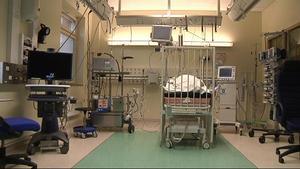 Barnet fick ECMO-behandling, då blodet syresätts med en konstgjord lunga. Nu har landstinget Dalarna gjort en lex Maria-anmälan. OBS: Bilden är tagen i ett annat sammanhang.Foto: Anders Britts/TT