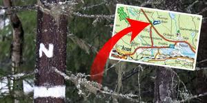 Ett nytt naturreservat har bildats i Ånge kommun, och det är åter ett område i de kalkrika markerna längs E14 upp mot Jämtland som länsstyrelsen valt skydda. (Karta: Länsstyrerlsen Västernorrland)
