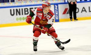 Emil Bejmo gjorde ett mål och hade en assist mot BIK Karlskoga.