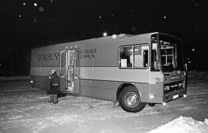 I januari 1979 fick Ljusdal sin första bokbuss.