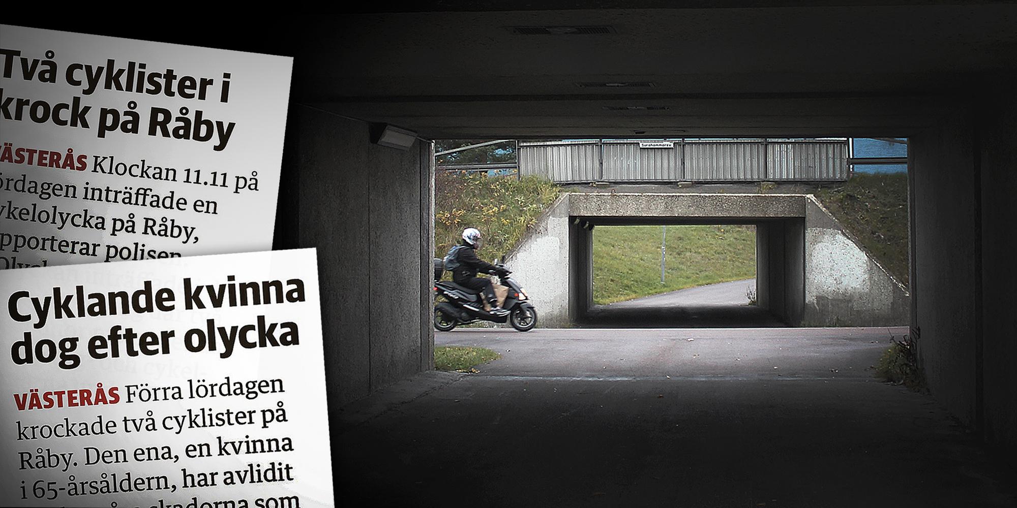 Cyklist avled efter krock