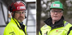 Johan Lindholm och Jan Andersson. Foto: Terese Perman/Pressbilder