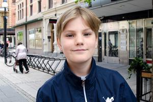 Noah Schreiner, 11, studerande, Sundsvall: