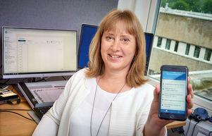 Ann-Sofie Kvist är utvecklingsledare IT och samordnare för införandet av Mitt vårdmöte vid Skaraborgs Sjukhus. Foto: Bild och Media/Skaraborgs Sjukhus