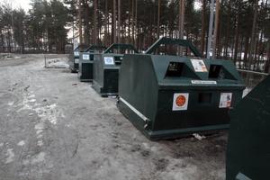 I veckan var det någon som lämnat ett skinnflått hästhuvud vid återvinningen på Grönalid i Vansbro.
