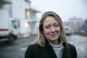 Katarina Hultqvist, vd för Hultqvist Fastigheter, är övertygad om att nästa etapp i Frostbrunnsparken kommer att byggas.