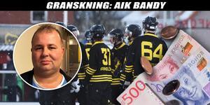 Marco Engborg, vice ordförande i AIK, vill inte berätta vem som betalar klubbens löner och ersättningar.