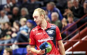 Viktor Brodd har vunnit 18 matcher och förlorat fyra – på det är han bäst i hela pingisligan.