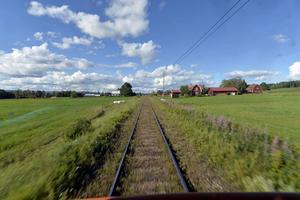 Trafiken på Inlandsbanan ökar, både gods - och persontrafik.