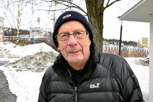 Bengt Engström, 77, pensionär, Bromma: