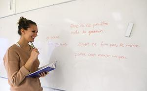Det finns många platser på lärarutbildningar. Foto: Anders Wiklund / SCANPIX