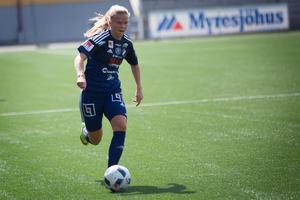 Kvarnsvedens målskytt Karin Winka.