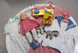 Hitta äldre leksaker på loppis. Foto: Fredrik Sandberg / TT