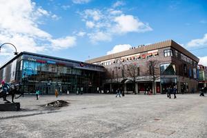 Torget i Örnsköldsvik.