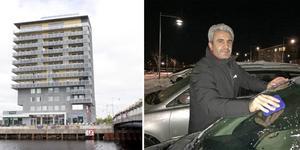 Osman Yilmaz som driver kafé i Fullriggaren ska nu också ta över skybaren högst upp i höghuset vid Alderholmsbron. Foto: Anders Eklind/Angelica Ränttilä