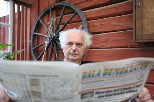 I 20 år har Göran Greider varit chefredaktör på Dala-Demokraten.
